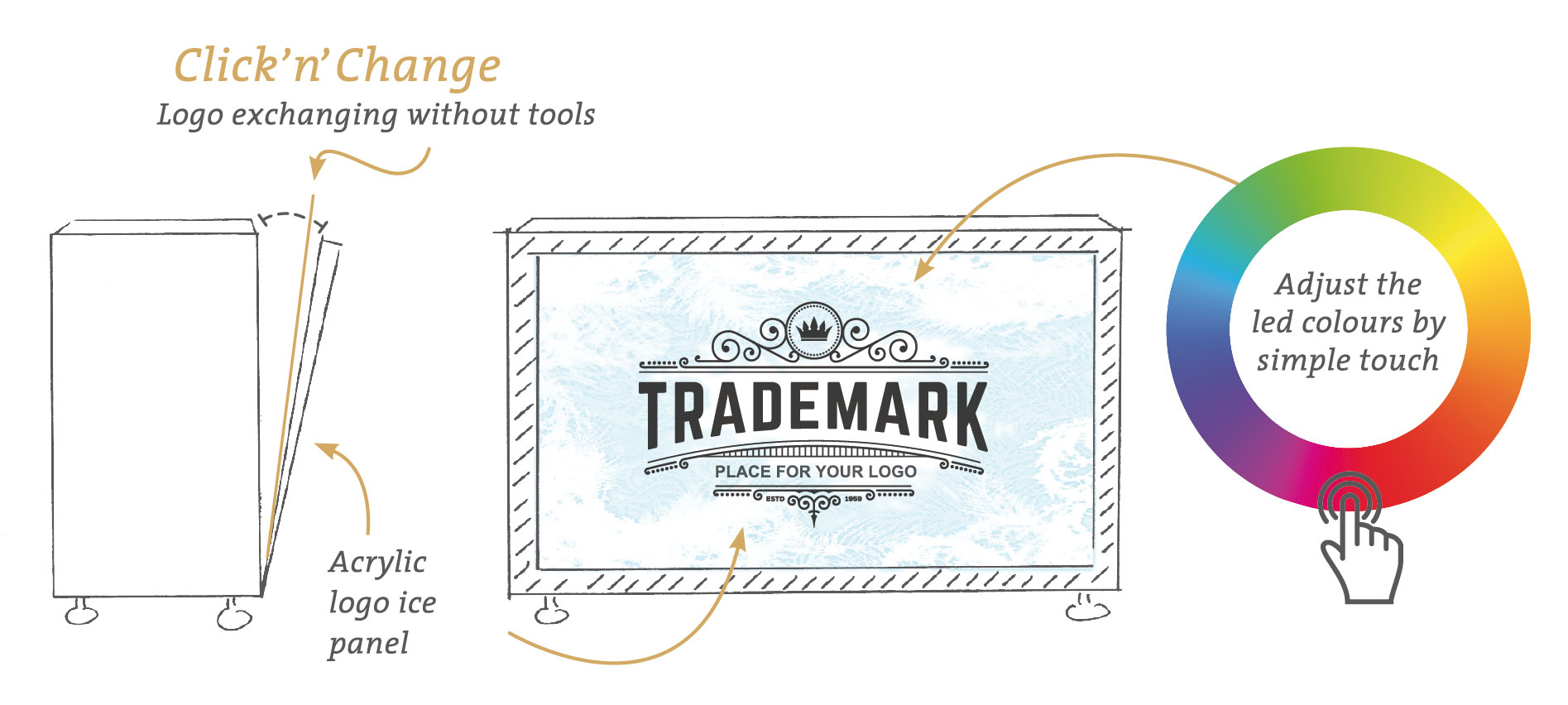 ice, icebar, individual, branding