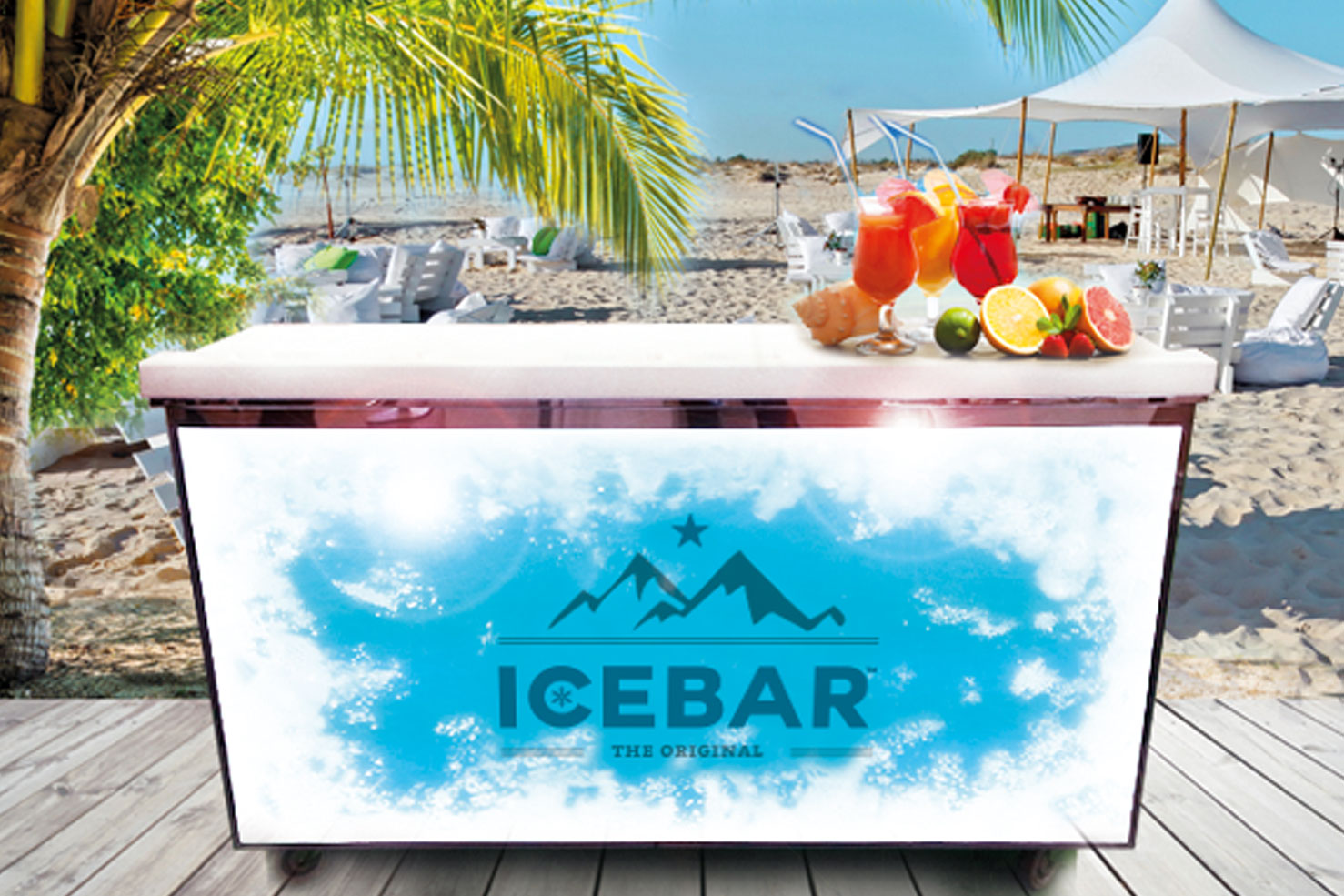 icebar, ice, beach, outdoor